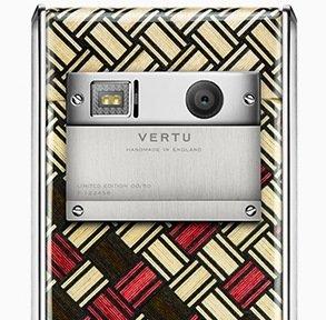 Деревянный телефон от Vertu (видео)