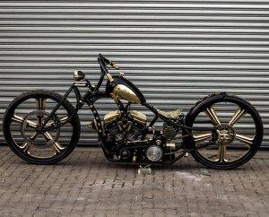 Уникальный мотоцикл «Золотоискатель»