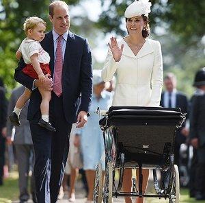 Сын Кейт Миддлтон, принц Джорж, пошёл в детский сад