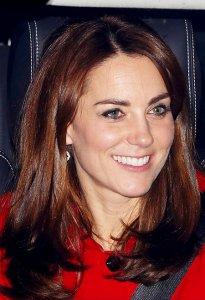 Кейт Миддлтон с принцем Джорджем посетили королевский ланч