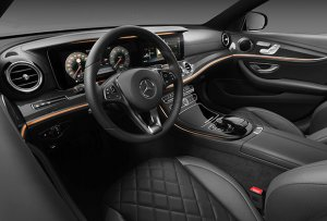 64 вариаций освещения салона в новой модели Mercedes-Benz