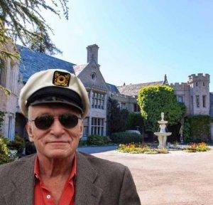 Журнал Playboy продаст особняк своего основателя