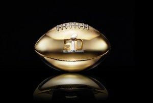 Дизайнерские мячи для юбилейной игры Super Bowl
