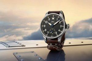 Ретро-часы с современной «начинкой» от компании IWC Schaffhausen