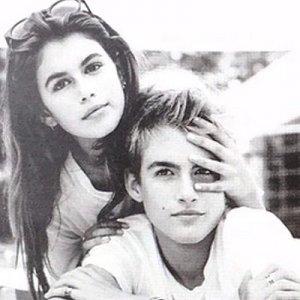 Фото для «глянца» Карин Ротфельд с сыном Синди Кроуфорд