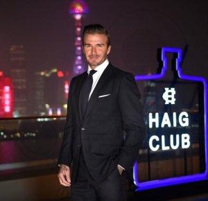 Шанхайская вечеринка Бекхэма в Haig Club