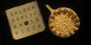 Начался выпуск золотой пиццы (видео)