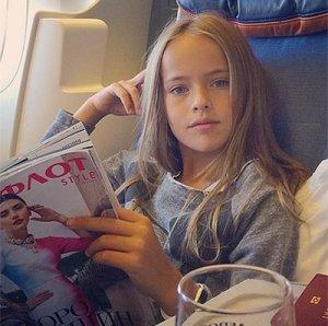 «Модные» контракты самой красивой девочки в мире - Кристины Пименовой