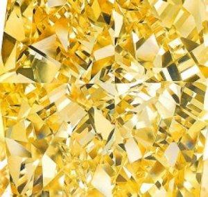 На дубайской выставке представлено колье с уникальным желтым бриллиантом