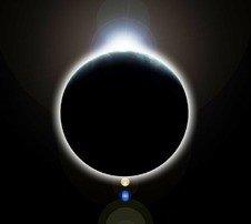 Солнечное затмение 9 марта 2016 года визуализировано НАСА (видео)