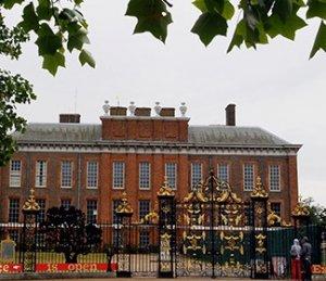 Самосожжение неизвестного мужчины перед Кенсингтонским дворцом