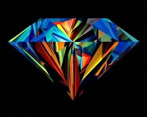 Алмазы бывают разные: чёрные, белые, красные…