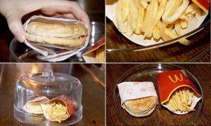 Эксперимент с едой из «Макдоналдса»: за шесть лет продукты не испортились