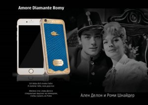 Новая бриллиантовая коллекция iPhone 6s Caviar (видео)