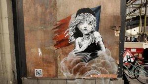 Уличный художник Бэнкси был «вычислен» учеными Британии