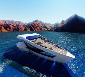 Футуристическая роскошь: яхта CF8 Sea Level