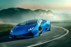 На Женевском автосалоне Lamborghini показало свой новый спорткар