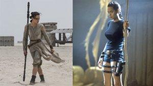 """Дэйзи Ридли из """"Звездных войн"""" как альтернатива Анджелине Джоли"""