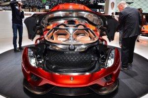 Презентация спорткара Koenigsegg Regera на Женевском автосалоне (видео)