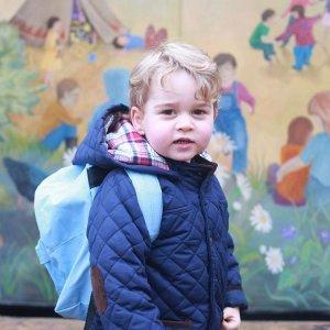 Двухлетний принц Джордж идет в школу