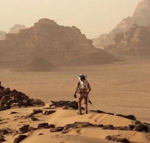 Изображение бегущего марсианина
