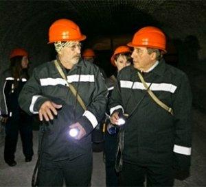 Выступление Розенбаума в соляном руднике