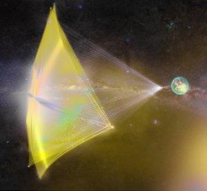Космический нанокорабль полетит к ближайшей звездной системе