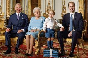 Принца Джорджа превратили в двойника бабушки Елизаветы