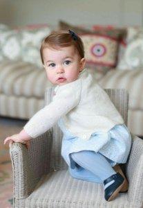 Королевство празднует 1-е день рождение принцессы Шарлоты!