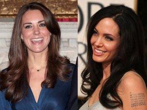 Попытки герцогини Кембриджской подружиться с Анджелиной Джоли