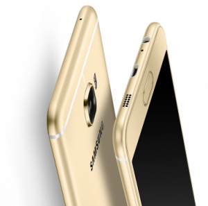 Смартфон Samsung Galaxy C5 в корпусе из металла