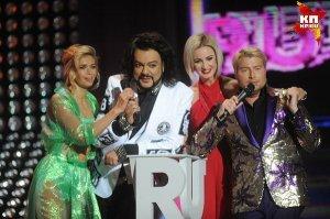Премии RU.TV: шутки Филиппа Киркорова и ошибка Веры Брежневой