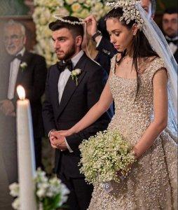 Богатая и роскошная свадьба состоялась в Греции