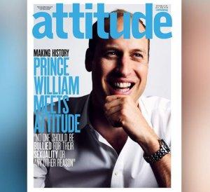 Принц Уильям на обложке гей-журнала