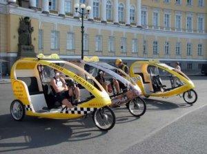 """Московское велосипедное такси от """"Яндекса"""""""