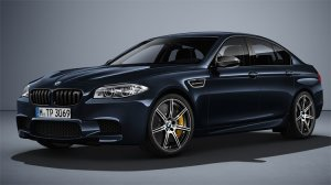 BMW M5 Competition Edition с тиражом всего в две сотни экземпляров