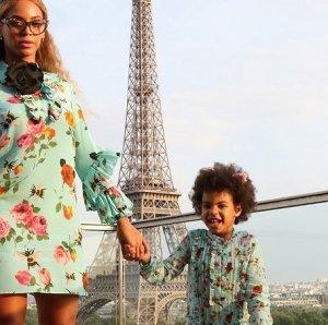 Необычные фотоснимки Бейонсе и ее дочери
