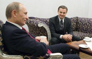 Ди Каприо  будет участвовать вместе с Путиным в кинопроекте