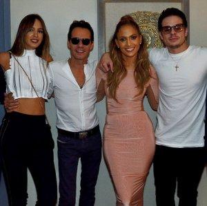 Дженнифер Лопес поддерживает дружественные отношения с бывшими супругами
