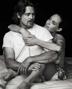 Анджелина Джоли с Брэдом Питом справили год брачной жизни