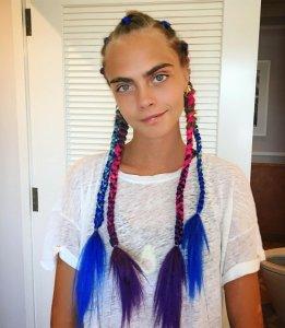 Нескончаемое лето с цветными косами