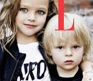 «Глянцевая» фотография трехлетнего отпрыска Евгения Плющенко и Яны Рудковской