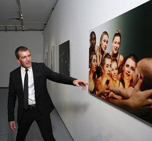 Московская выставка фотографий Антонио Бандераса