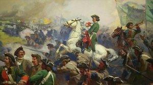 Полтавская битва со шведом Дольфом Лунгреном