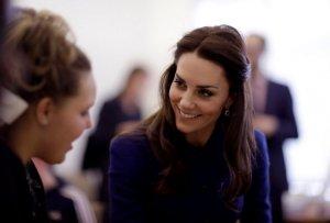 Кейт Миддлтон с принцем Уильямом побывали в благотворительном центре Лондона