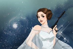 Принцесса Лея станет принцессой Диснея