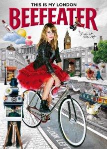 Стиль Beefeater преобразил такси на улицах Лондона