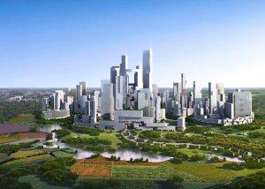Поднебесная строит «зеленый город-сад»