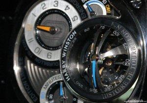 Часы от Harry Winston Histoire с золотым турбийоном стали образцом элегантной точности