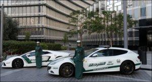 Lamborghini Aventador и Ferrari FF на службе в полиции